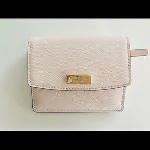 Kate Spade Laurel Way Mini Wallet Warm Vellum